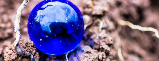 my blue marble